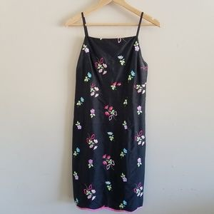 🆕️Vintage Lilly Pulitzer Floral Embroidered Dress